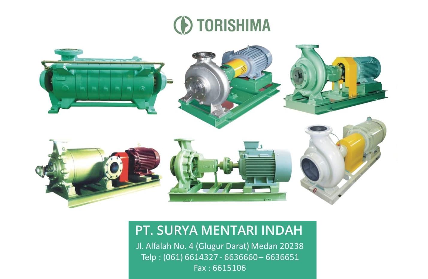 Jual Torishima Pump di Medan